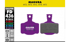 Galfer Brake Pads - For Magura MT2 / MT4 / MT6 / MT8 / MTS