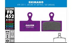 Galfer Brake Pads - For Shimano XTR/XT/SLX New Generation