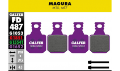 Galfer Brake Pads - For Magura MT5 / MT7 (x4)