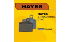 Plaquettes Var - Pour Hayes Stroker Ryde/Dyno